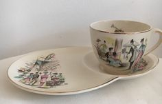 Alfred Meakin 1940s Vintage My Fair Lady Hostess Set