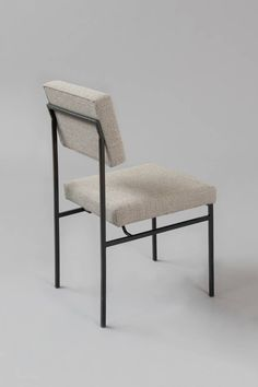 Antoine Philippon and Jacqueline Lecoq, 'Set of 8 chairs Galerie Pascal Cuisinier Iron Furniture, French Furniture, Vintage Furniture, Modern Furniture, Furniture Design, Modern Chairs, Living Room Chairs, Dining Chairs, Convertible Furniture