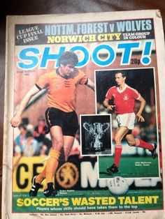 Shoot! League Cup final 1980 special