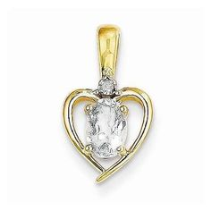 Show some love through your pendant with this 14k Yellow Gold Diamond & White Topaz Pendant - $86.00 from iceCarats.com. Use code INSTALOVE for 10% discount.  #icecarats #jewelry #fashion #accessories #jewelryjunky #latestfashion #trending #fashiontrends #affordablefashion #lookbook #fashionbloggers #bloggerstyle #bestseller #instaglam #instastyle #jewelrylover #streetstyle #jewelrylover #jewelrytrends #dailyinspo #romantic #fashionkilla #fashionstory #hollywood #classy #heartpendant…