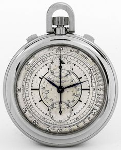 Patek Philippe Two-Tone Sector Dial Chronograph 1938 by kitchener.lord, via Flickr
