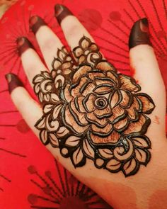 Rose Mehndi Designs, Khafif Mehndi Design, Latest Henna Designs, Henna Art Designs, Mehndi Designs For Girls, Mehndi Designs For Beginners, Dulhan Mehndi Designs, Mehndi Design Photos, Wedding Mehndi Designs