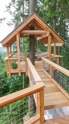 How Tree House Master Pete Nelson Built an Empire in the Woods - Dwell Beautiful Tree Houses, Cool Tree Houses, Build Your House, Building A House, Treehouse Masters, Tree House Interior, Tree House Plans, Diy Tree House, Modern Tree House
