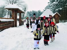 As you might already know, I live in Romania which has some pretty interesting Christmas traditions I want to share with you. CHRISTMAS FASTING Romanians are said to be very religious people, so f… Religious People, Christmas Traditions, Religion, Traditional, Folklore, Day, Outdoor, Inspiration, Beautiful Places