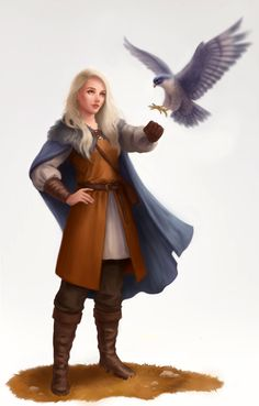 Falconer by LKivihall.deviantart.com on @DeviantArt