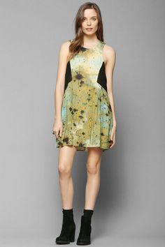 Evil Twin Emerald Sky Swing Dress #urbanoutfitters