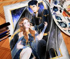 A Court of Mist and Fury: Mates of Dreams by bethanyXD.deviantart.com on @DeviantArt