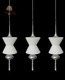 Lampa żyrandol 3 płomienny AURORA Italux MD102805-3A