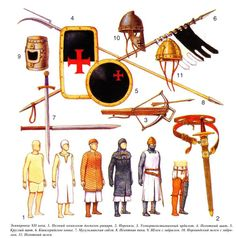 The Crusades - XII c. - Knight's Equipment