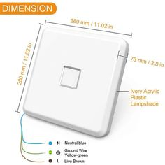 24W Square Flush Mount LED Ceiling Lights IP65 Waterproof Daylight White – onforuleds Square Led Ceiling Lights, Led Ceiling Light Fixtures, Electricity Bill, Indoor Swimming Pools, Luminous Flux, Acrylic Plastic, Take Apart, Light Colors, Drop Ceiling Lighting
