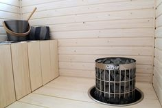 Lämmin ilo: Sauna ja kylpyhuone