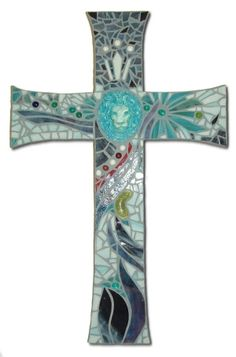 mosaic cross by AlisonB