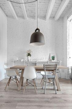 White with tones of grey interiors