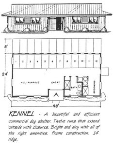 Dog kennel blueprints google search dog kenn imagens malvernweather Images