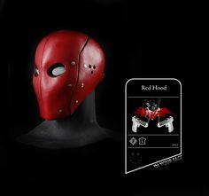 Smirk Masks - Red Hood