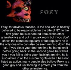 foxy bio