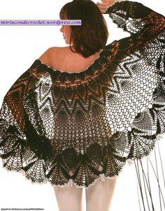 Impactante chal!!!! | Mi Rincon de Crochet