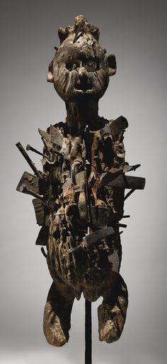 Kongo Nail Power Figure, Democratic Republic of the Congo   lot   Sotheby's