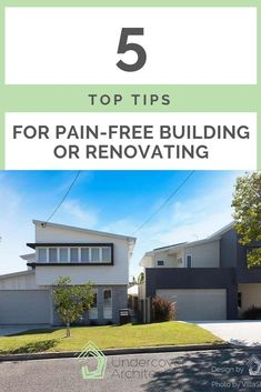 5 top tips for pain-free building or renovating Outdoor Living Areas, Outdoor Rooms, Outdoor Showers, Building Costs, Building Companies, Cox And Cox, Queenslander, Our Environment
