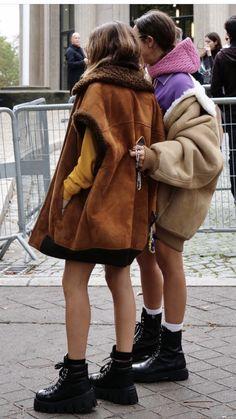 Sheepskin Coat, Miu Miu, Winter Jackets, Fashion, Winter Coats, Moda, Shearling Coat, Winter Vest Outfits, Fashion Styles