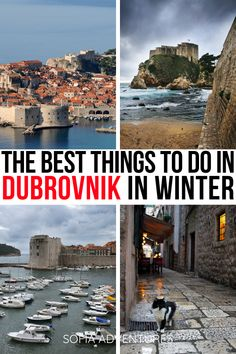 Thinking of visiting Dubrovnik in winter? These are the best Dubrovnik winter activities and the best things to do in Dubrovnik during winter! Dubrovnik in january | Dubrovnik in february | Dubrovnik in december | Dubrovnik winter weather | Dubrovnik trip ideas | Croatia in winter | Croatia in january | Croatia in february | Croatia in december | things to do in Dubrovnik | Dubrovnik vacation ideas | Croatia vacation ideas | where to go in Dubrovnik | Dubrovnik tips | Croatia tips | Croatia… Travel Europe Cheap, Europe Travel Guide, Cool Places To Visit, Places To Travel, Travel Destinations, European Vacation, European Travel, Winter Travel, Holiday Travel