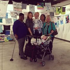 These lovely ladies participated in the Flags for PeACe exhibition in the Atlantic City Art Gallery. This exhibition will be up until April 15 and you can participate by creating a prayer flag to add to this installation! #PrayerFlags #FlagsforPeACe #Installation #ArtAC #artsgarageac #ART