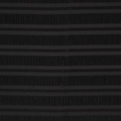 Black Striped Plisse-Like Polyester Brocade Fabric by the Yard | Mood Fabrics
