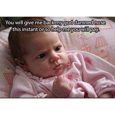 I love baby memes.