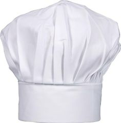 Gourmet Classics Adult Size Adjustable Chef Hat by HIC Brands That Cook. $7.05. Chef's hat by Gourmet Classics. Adult size; adjustable. Linen white. Made of 100-percent cotton. 8-1/2-Inch tall. The Adult Size Adjustable Chef Hat is expertly crafted and made of 100-percent cotton. This hat is designed with the professional in mind. Adjustable and durable; will fit most adults and will last, even under demanding work conditions. Part of the Chef line by Gourmet Classics. The Gour...