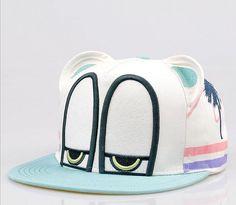 Adjustable unisex Snapback Hat Garfield carton flat by Bestown Cute Caps, Fashion Caps, Mens Fashion, Cotton Hat, Snapback Cap, Pocket Square, Gq, Diaper Bag, Menswear