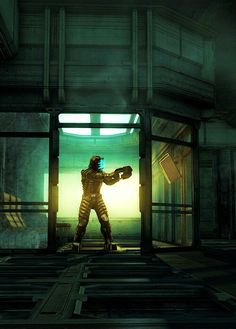 Dead Space. I have very vivid memories of those tram stations.