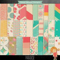 Oscraps :: Shop by Category :: Digital Scrapbook Kits :: Paradise