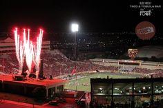 Touchdown Fireworks at Texas Tech!