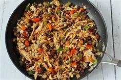 Southwest chicken skillet | FamilyFoodontheTable.com