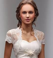 Cheap ivory wedding jackets, Buy Quality lace bolero directly from China bridal wraps Suppliers: 2017 New Fancy Wedding Shawl Short Sleeves White Ivory Wedding Jacket Lace Bolero Bridal Wrap Custom Country Wedding Dresses, Wedding Suits, Bridal Dresses, Wedding Gowns, Lace Wedding, Lace Dresses, Elegant Dresses, Trendy Wedding, Sophisticated Wedding