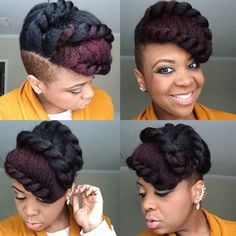 Try This Fabulous Triple Flat Twists on Natural Hair: Suggested Videos Comments . - Try This Fabulous Triple Flat Twists on Natural Hair: Suggested Videos Comments comments asianhairst - Natural Hair Flat Twist, Flat Twist Updo, Natural Hair Updo, Natural Hair Growth, Natural Hair Styles, Sisterlocks, Locs, Scene Hair, Twist Outs