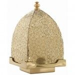Arteriors Home - Sullivan Polished Brass Perforated Lantern - 6611  Special Price: $168.00