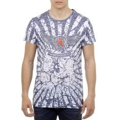 Andrew Charles By Andy Hilfiger Andrew Charles Mens T-Shirt Short Sleeves Round Neck Blue Caleb Mens Sleeve, Short Sleeves, Men Casual, Mens Tops, T Shirt, Clothes, Ea, Composition, Turkey