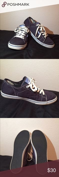 Vans Ferris Lo Pro Navy (US Women's 7) Very comfortable lifestyle Vans sneakers. In perfect condition as seen in picture. Selling because I already own a fair amount of sneakers. Size 7 Women's. Navy colored. Vans Shoes Sneakers