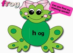 Rhyming Words Smart Notebook Lesson