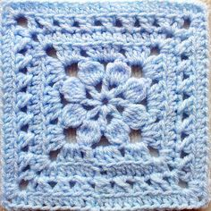 Walled Garden Square: free pattern
