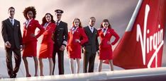 Virgin Atlantics flight attendants voted the most attractive in a survey of travellers