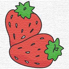 Free embroidery designs strawberries Applique Designs Free, Applique Patterns, Cross Stitch Patterns, Sewing Crafts, Sewing Projects, Free Machine Embroidery Designs, Embroidery Files, Needlework, Couture