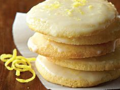 Serve up some inspiration with this Lemon Ricotta Cookies recipe from Galbani Cheese. Our authentic Italian cheeses will bring the joy of sharing a savory meal with those you love – it's one of life's greatest pleasures. Lemon Dessert Recipes, Pound Cake Recipes, Cookie Recipes, Lime Recipes, Baking Recipes, Lemon Ricotta Cookie Recipe, Lemon Cookies, Sour Cream Pound Cake, Cheese Dessert