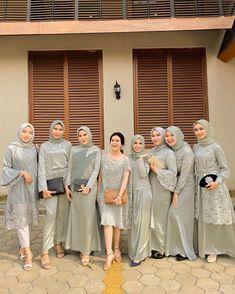 Kebaya Wedding, Muslimah Wedding Dress, Muslim Wedding Dresses, Hijab Bride, Muslim Brides, Wedding Hijab, Kebaya Hijab, Kebaya Dress, Kebaya Muslim