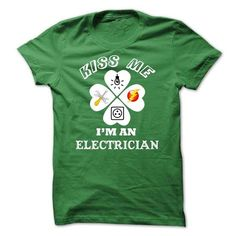Electrician Happy Saint Patrick Day T Shirts, Hoodie