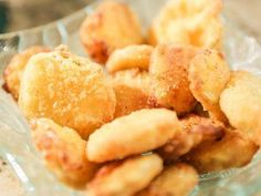 "Fried Pickles with Cajun Aioli (Halftime Ham Sandwich) - Damaris Phillips, ""Southern at Heart"" on the Food Network."