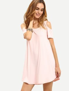 Shop Open Shoulder Swing Asymmetric Dress online. SheIn offers Open Shoulder Swing Asymmetric Dress & more to fit your fashionable needs.