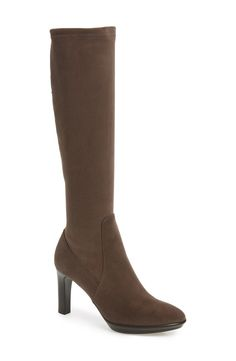Aquatalia 'Rumbah' Weatherproof Knee High Stretch Boot (Women) available at #Nordstrom