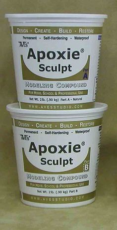 Tip of the Month: Extra advice from others that use Apoxie Sculpt:  I use Apoxie sculpt to assemble my cut work, and since everything is al...